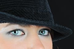 Nice eyes Royalty Free Stock Photo