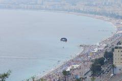 Nice, för hav, för flygfotografering, kust- och oceaniska landforms, atmosfär av jord royaltyfri bild