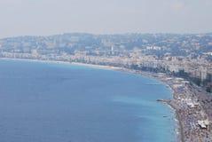Nice, för hav, kust- och oceaniska landforms, kust, himmel royaltyfria foton