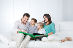 Nice family moment Stock Images