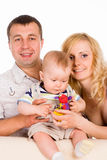 Nice family portrait Royalty Free Stock Photo