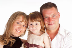Nice family portrait Royalty Free Stock Photography