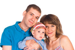 Nice family portrait Stock Image