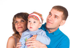 Nice family portrait Stock Photography