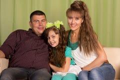 Nice family portrait Stock Image