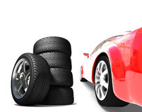 A nice fast car Royalty Free Stock Image