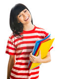 Nice Female Student Royalty Free Stock Photography