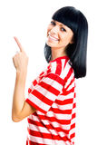 Nice female student Royalty Free Stock Image