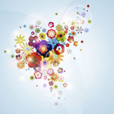 Nice flora background Stock Image