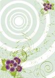 Nice flower grunge background Royalty Free Stock Image