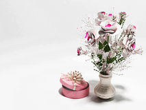 Nice flowers in the vase Royalty Free Stock Photos