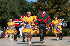 Nice folk dance Royalty Free Stock Images