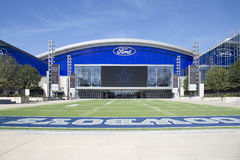Nice Ford center in the city Frisco Stock Photography