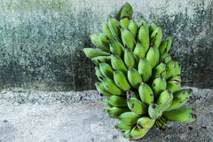 Nice form of fresh banana. Stock Photography