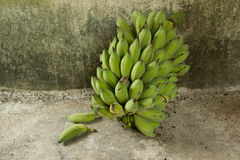 Nice form of fresh banana. Royalty Free Stock Photos