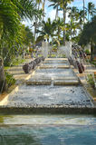 Nice fountain in the hotel Stock Photography