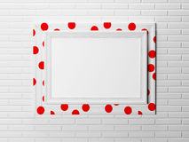 Nice frame on the wall, Royalty Free Stock Photos