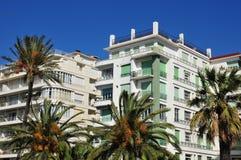 Nice, France - april 19 2016 : Promenade des Anglais Royalty Free Stock Photos