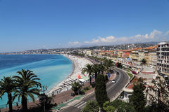 Nice, France. Côte d'Azur, Nice, France, May 2015 royalty free stock photo