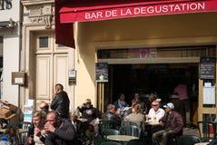 Nice France Cafe Street Scene Stock Images