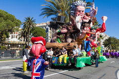 Nice, France, Carnival of Nice Royalty Free Stock Photography