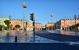 Nice, France. City center of Nice in France stock images
