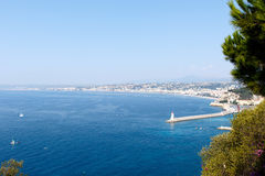 Nice, France Harbor Stock Photography