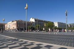 Nice, France. Massena Square Royalty Free Stock Image