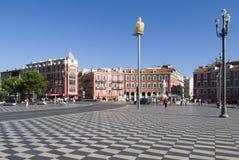 Nice, France. Massena Square Stock Photos