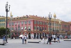 Nice, France. Massena Square Royalty Free Stock Photos