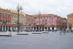 Nice, France. Massena Square Stock Image