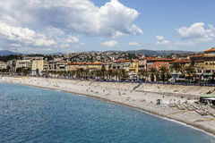 Nice in France Royalty Free Stock Photo