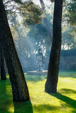 Nice, France - October 22, 2011. Foundation Maeght. Sculpturs in outdoor garden. Royalty Free Stock Photography