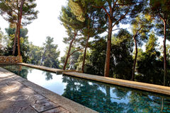Nice, France - October 22, 2011. Foundation Maeght. Sculpturs in outdoor garden. Stock Photography