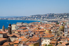 Nice, France. The old town of Nice, France Stock Photography