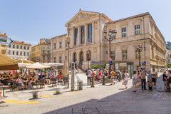 Nice, France Palace of Justice Stock Image