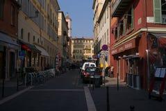Nice France Street Scene Royalty Free Stock Photo