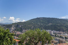 Nice, France. View of the city Royalty Free Stock Photo