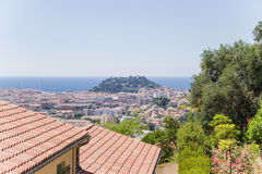 Nice, France. View of the city Royalty Free Stock Photos