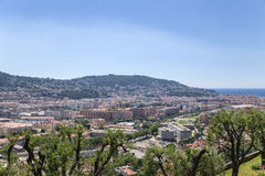 Nice, France. View of the city and sea Stock Photography