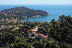 Nice, France. View of the Mediterranean resort - Nice Royalty Free Stock Photos