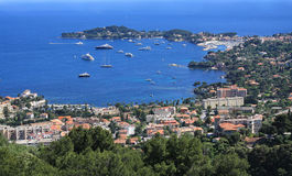 Nice, France. View of the Mediterranean resort - Nice Royalty Free Stock Images