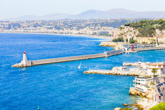 Nice, France. View of Nice, south of France Stock Image