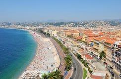 Nice Frankrike Royaltyfri Fotografi