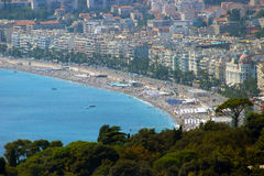 Nice, Franse Riviera stock fotografie