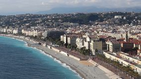 Nice, French Riviera stock video