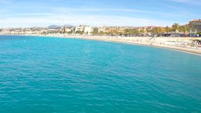 Nice, French Riviera stock footage