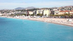 Nice, French Riviera stock video footage