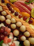 Nice fruits dessert Stock Images