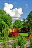 Nice garden Stock Photo
